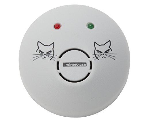 Windhager Mausvertreiber ULTRASONIC Mäuseabwehr Maus Repeller Ultraschall-Vertreiber Schädlingsbekämpfer Wirkungsbereich bis zu 80 m² 05017