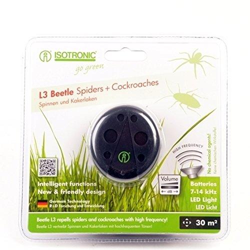 Mobiler Insektenvertreiber Beetle L3 Spinnen und Kakerlaken  Ultraschall Schädlingsbekämpfung  deutscher Hersteller