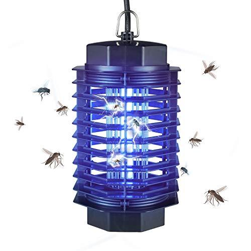 Gardigo Insektenvernichter elektrisch mit UV-Licht  Elektronischer Mückenschutz gegen Mücken Fliegen Moskitos  Insektenabwehr für 50 m²  Deutscher Hersteller