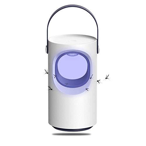 XKD UV LED Elektrischer Insektenvernichter Moskito-Mörder Physikalischer Moskito Killer gegen Fliegende Insekten ohne Chemiegeruchsneutral  separater FangbehälterVentilator-Falle