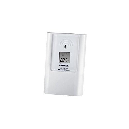 Hama Wetterstation Sensor für InnenAußen Erweiterung oder Ersatz für EWS-870EWS-880EWS-890 Funk AußensensorAußenfühler