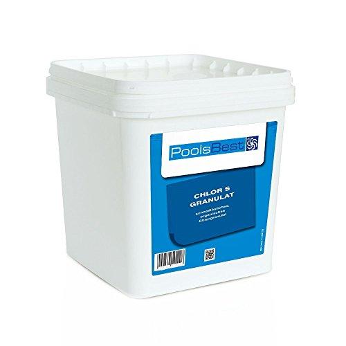 5 Kg - PoolsBest Chlorgranulat S schnelllöslich 56 Aktivchlor