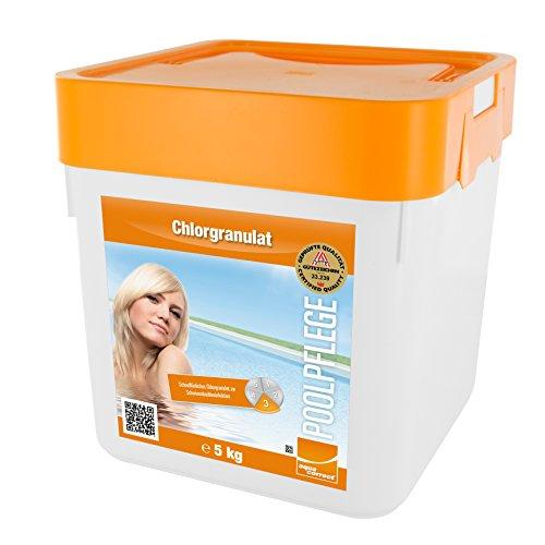 Steinbach Poolchemie Chlorgranulat 5 kg Desinfektion 0751205TD02