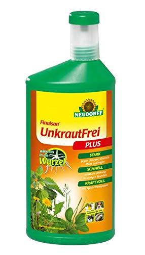 Neudorff Finalsan Konzentrat Unkraut Frei Plus 1 Liter - biologisch abbaubar nicht bienengefährlich
