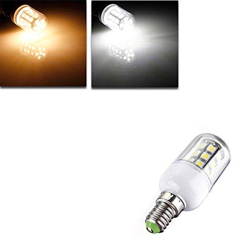 Bazaar E14 LED Glühbirnen 12V 3W 27 SMD 5050 weiße  warme weiße Mais Licht
