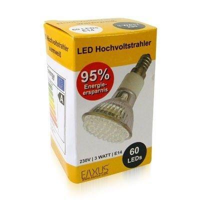 E14 60 LED STRAHLER SPOT WARMWEISS - EXCELLENTES LICHT FÜR SCHREIBTISCHLAMPE   95  ENERGIEEINSPARUNG
