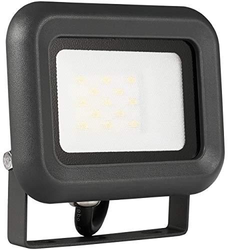 LUMIRA LED Fluter 10W Ersatz für 100W Flutlicht-Strahler Außen-Leuchte für Innen- und Außenbereich IP65 Warmweiß