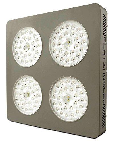 Advanced Platinum Series P4-XML2 380w 12-band LED Grow Light  CREE 10w XM-L2 w DUAL VEGFLOWER FULL SPECTRUM