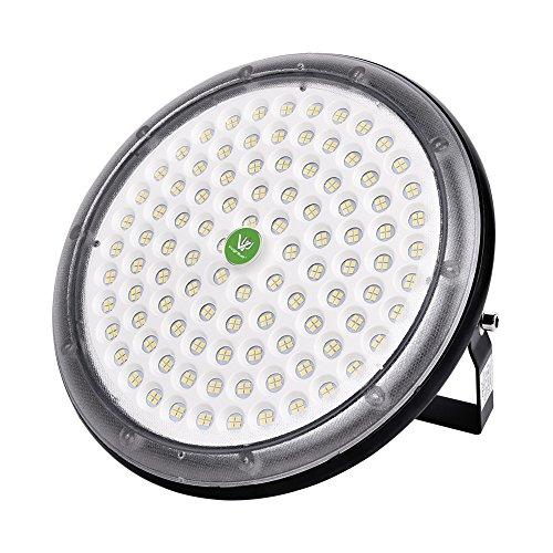 Viugreum 100W Led Hallenbeleuchtung SMD 5730 LED Hallenstrahler LED Licht Innen Außen Kaltweiß UFO LED Industriebeleuchtung Deckenleuchte Hallenbeleuchtung Werkstattbeleuchtung