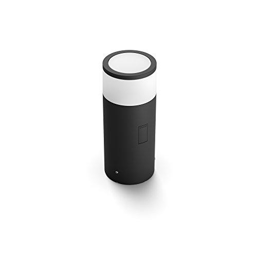 Philips Hue White and Color Ambiance LED Sockelleuchte Calla Erweiterung für den Aussenbereich dimmbar bis zu 16 Millionen Farben steuerbar via App kompatibel mit Amazon Alexa Echo Echo Dot