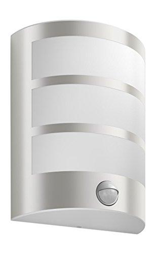 Philips myGarden LED Wandaussenleuchte Python Bewegungsmelder Metall 6 W Edelstahl 173244716