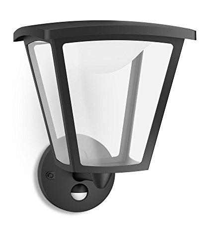 Philips myGarden LED Wandleuchte Cottage 1-flammig schwarz 154883016