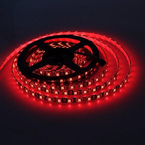 Chinatera 24 V 5050 5 m 300 LEDs Nicht Wasserdichte dekorative LED-Lichterband 97439 rot
