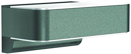 Steinel LED Außenleuchte L 810 LED iHF anthrazit 125 W 612 Lumen 160° Bewegungsmelder max 5m Reichweite Wandlampe