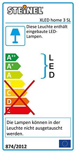 Steinel LED-Strahler XLED Home 3 Slave weiß 4000K ohne Sensor 20 W 1426 Lumen schwenkbarer LED Fluter vernetzbar