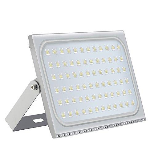 500W LED-Flutlicht IP65Waterproof super helle Sicherheits-Lichter im Freien 80 energiesparend und umweltfreundlich 120 Grad 220V Licht für Garten TerrasseEnergieklasse A  Kaltweiß 500W