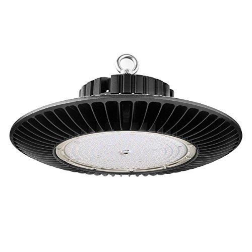 LE LED Hallenstrahler UFO 240W 30000lm Hallenbeleuchtung Industrielampe ersetzt 500W Halogen Metalldampflampe 120°Abstrahlwinkel Kaltweiß