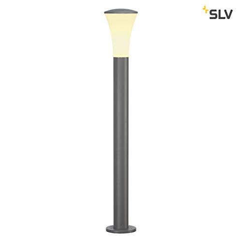 SLV LED Außenleuchte ALPA CONE  Design Außen-Standleuchte stilvolle Außenbeleuchtung  Outdoor LED Wege-Leuchte Pollerleuchte Weg-Beleuchtung Garten-Lampe Gartenbeleuchtung  E27 A-A max 24W
