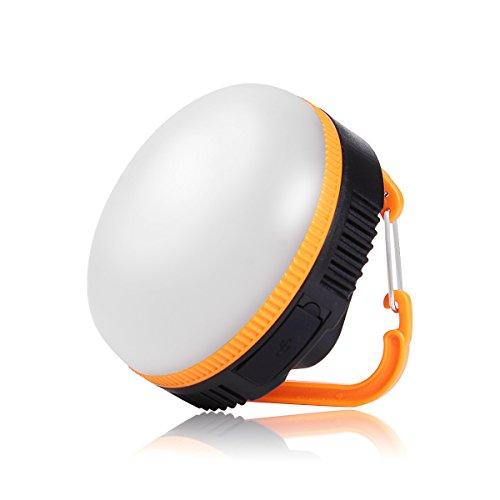 MEIKEE mini LED Camping Lichter 5 Modi wiederaufladbar Camping Licht mit 360° Abstrahlwinkel Outdoor Laterne für Angeln Camping und Wandern