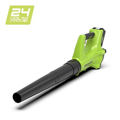 Greenworks 24V Akku-Axial-Laubbläser ohne Akku und Ladegerät - 2402207
