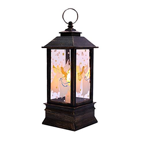 LED Weihnachten Flamme Licht 12shage Weihnachten kleine Öllampe Dekoration Candle Light Laterne Dekor E