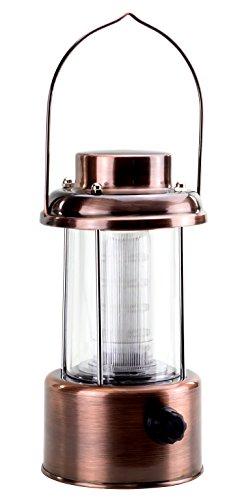 Laterne Retro LED Kupfer-Ausführung 2er-Pack
