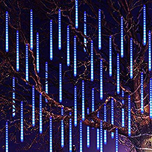 Ceanfly 30cm 8Tube 240LEDs Meteorschauer LichterketteWasserdichte Meteor Shower Lichtermit EU Stecker Meteorschauer Regen Lichter für Hochzeit Weihnachten Party Garten Baum Hause Dekoration Außen