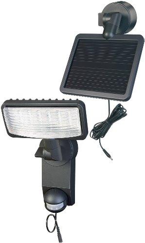Brennenstuhl LED-Strahler Premium SOL LH  LED-Leuchte für außen mit Bewegungsmelder IP44 inkl Solar-Panel und Akku 12 x 05 W Farbe anthrazit