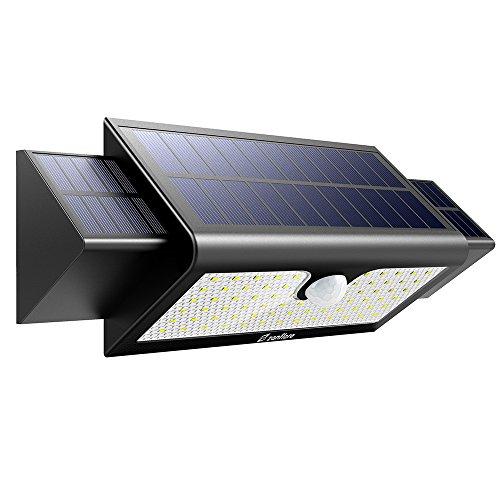 Zanflare Solar Lampe mit Bewegungsmelder 71 LED-Licht Solarenergie Lampe Wasserdichte Luminous Outdoor-Sicherheit für Garten Hof Pfad mit Bewegung