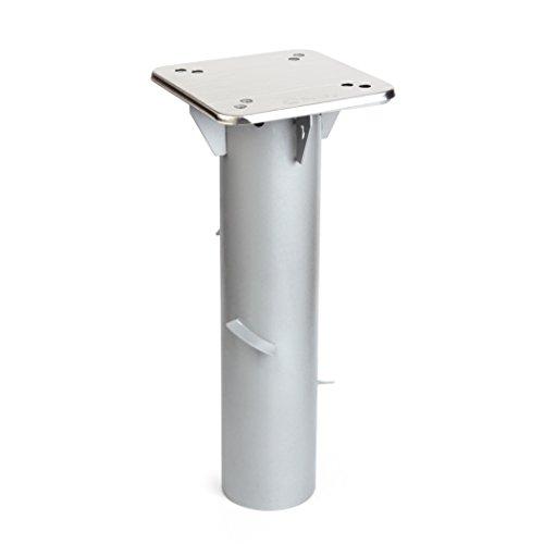 Sekey Metall Universal-BodenplatteSonnenschirmständer für SonnenschirmAmpelschirmKurbelschirm Silber