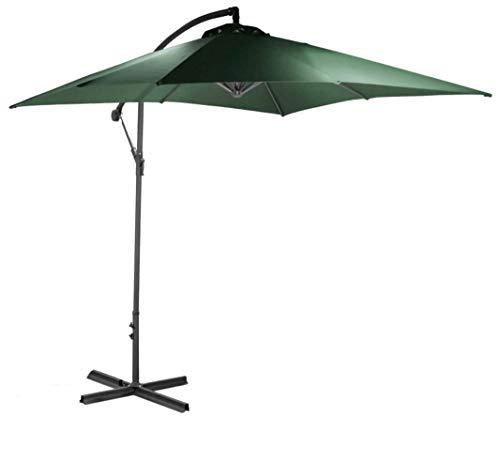 habeig 25m Ampelschirm grün Sonnenschirm Kurbelschirm Schirm Gartenschirm 250cm