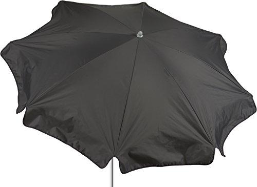 beo Sonnenschirme wasserabweisender rund Durchmesser 180 cm grau