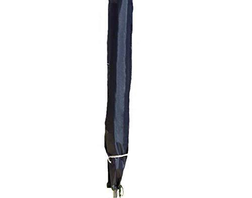 Spetebo Hochwertige Schutzhülle für Sonnenschirme von 200 bis 400 cm - Material Oxford 420D - Schirm SchutzhaubeAbdeckung