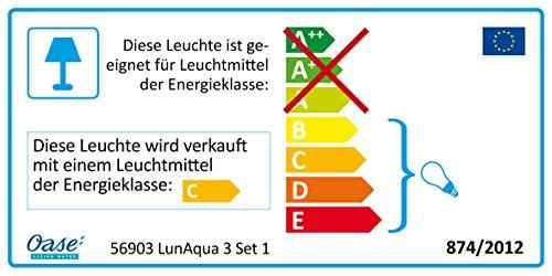 Oase Unterwasserbeleuchtung LunAqua 3 LED Set 1