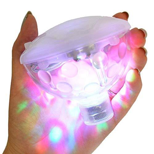 Bestland Multifarbige Unterwasser-LED mit RGB und 5 Modi Disco Beleuchtung Licht Badewanne LED Spielzeug Für den Teich Pool Spa Oder Whirlpool