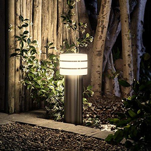Philips Hue LED Sockelleuchte Tuar Stahl Gebürstet inkl Hue White  Hue-Wegeleuchte Gartenleuchte