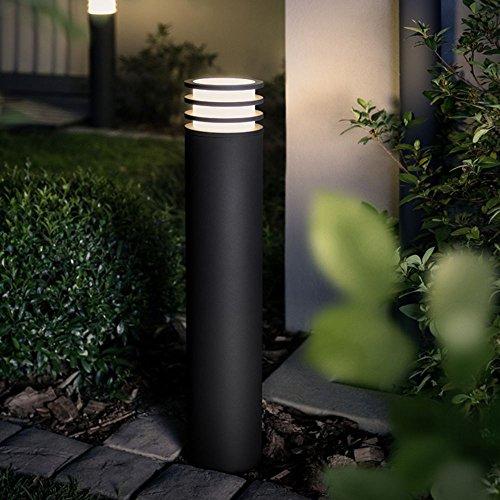 Philips Hue LED Wegeleuchte Lucca Anthrazit inkl Hue White  Hue-Gartenleuchte Außenleuchte