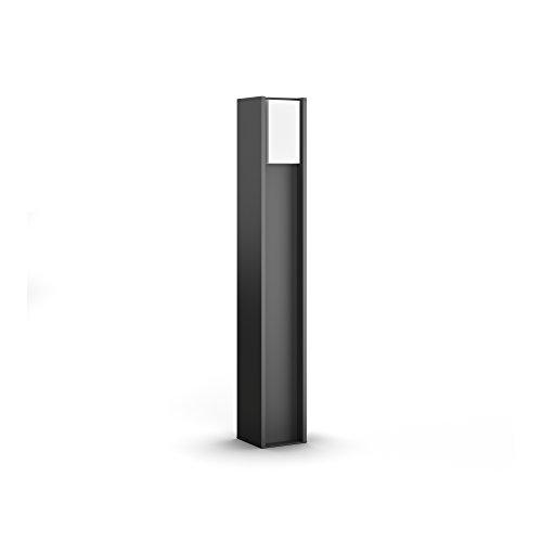 Philips Hue LED Wegeleuchte Turaco für den Aussenbereich dimmbar warmweißes Licht steuerbar via App kompatibel mit Amazon Alexa Echo Echo Dot