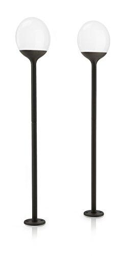 Philips myGarden Blossom LED Wegeleuchte 2-flammig anthrazit 178179316