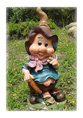 Design Zwerg 44 cm Hoch NF 11050 Deko Garten Gartenzwerg Figuren Dekoration verschiedene Design Design 1