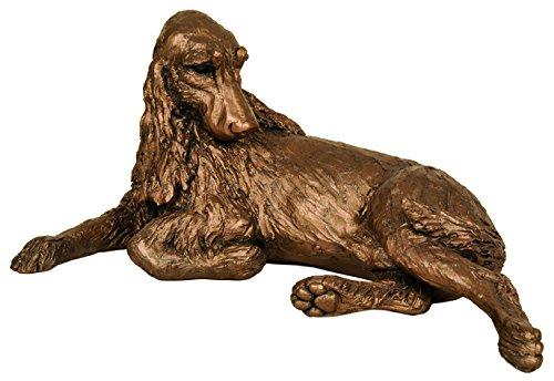 Monty Springer Spaniel-Anhänger aus bronze Skulptur von Harriet Dunn