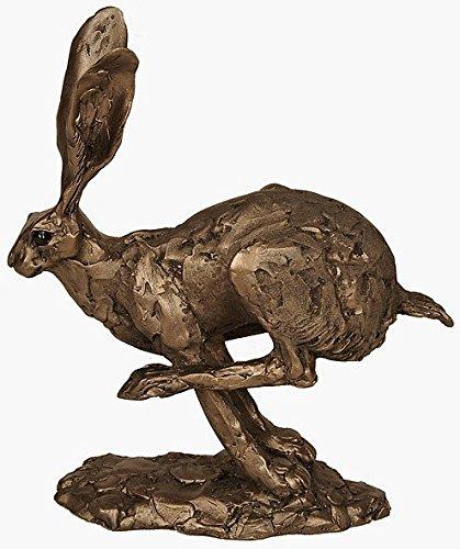 Neue Hurricane Hase Running von Kalten gegossene Bronze-Skulptur Ornament von Paul Jenkins Frith