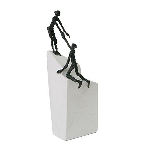 Zu zweit gehts III - Kött-Gärtner Luise - Bronze Skulptur