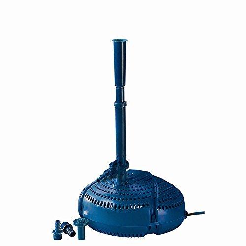 Fiap Aqua Active Mini 1000 Hochwertige Springbrunnen- Teich Filter- Wasserspielpumpe für Bachlauf Gartenteich Fontäne Leistungsstarke für Wasserspiel