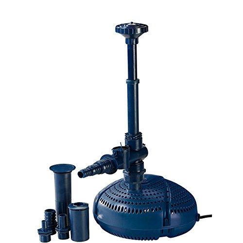 Fiap Aqua Active Mini 2000 Hochwertige Springbrunnen- Teich Filter- Wasserspielpumpe für Bachlauf Gartenteich Fontäne Leistungsstarke für Wasserspiel
