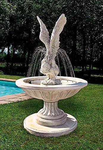 Springbrunnen FATA VENTO H 190 Farbe terracotta