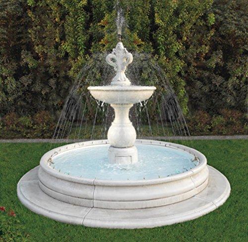 Springbrunnenanlage VIAREGGIO H 190 Farbe terracotta