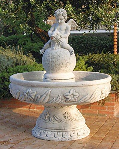 pompidu-living Springbrunnen JESOLO H 153 Farbe Terracotta