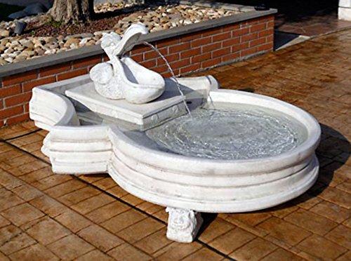 pompidu-living Springbrunnen Lagos H 65 Farbe Terracotta