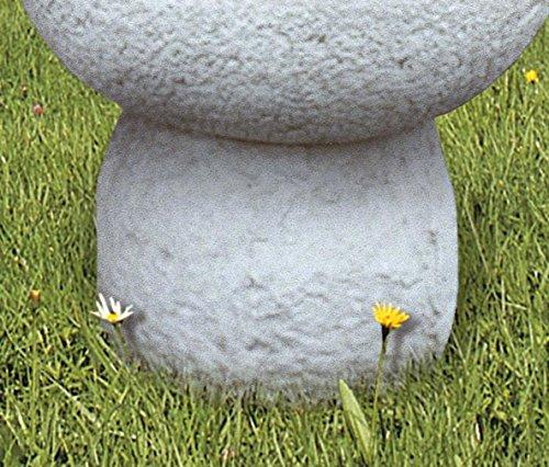 pompidu-living Standfuß für Brunnenschale LOREDANA H 28 Farbe Terracotta